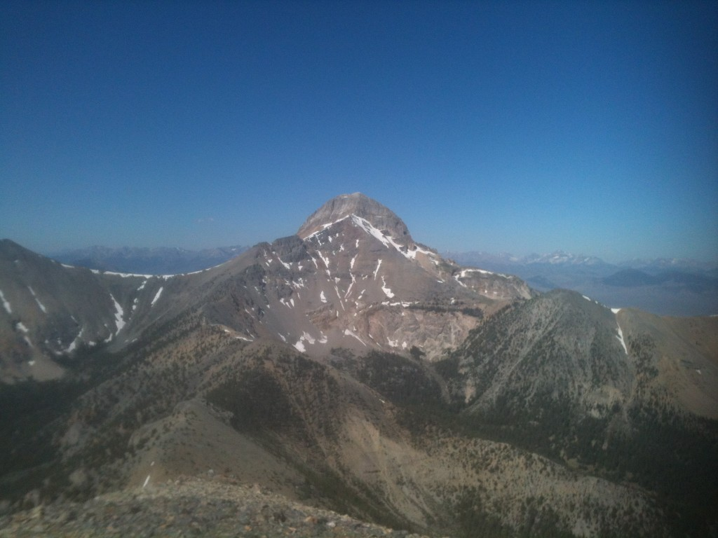 Bell Mountain from Meadow Peak.