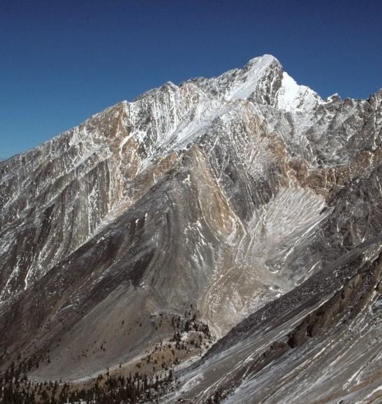 Borah as seen from Mount Idaho.