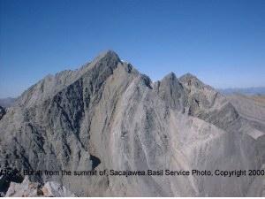 Borah from the summit of Sacajawea.