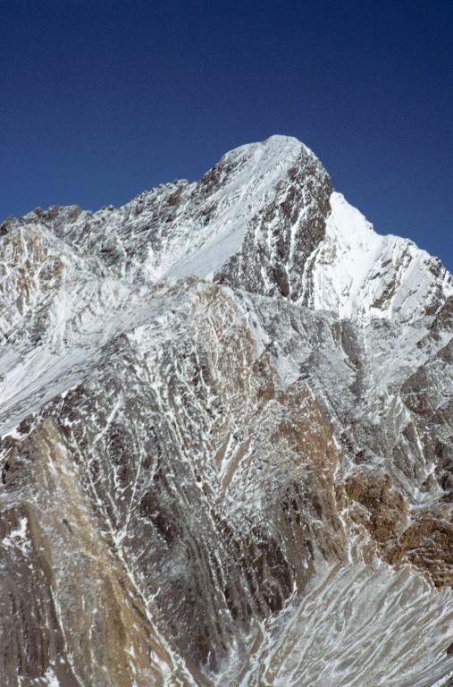 Borah from the west ridge of Mount Idaho.