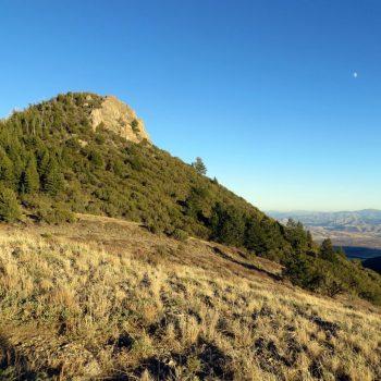 Summit block of Peak 8037. Photo - Steve Mandella