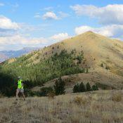 Peak 8037 Southeast of Scout Mountain