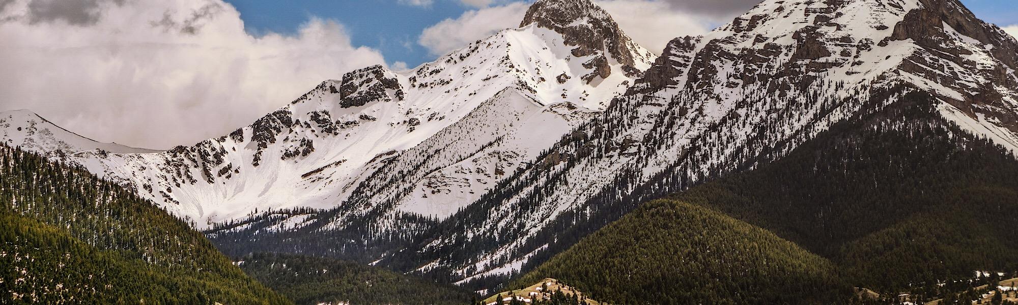 Bell Mountain from Bassinger Canyon. Matt Durrant Photo