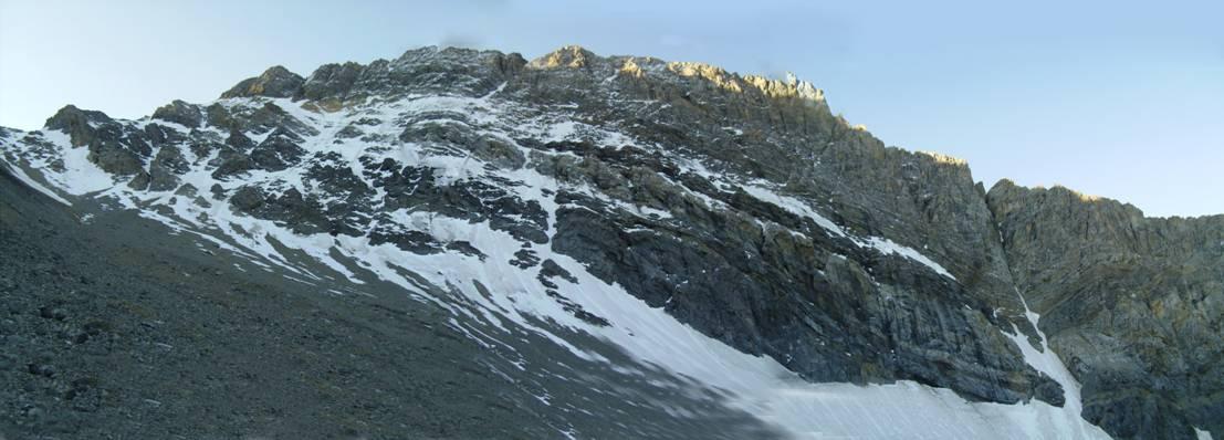 Borah's North Face. Photo - Bob Boyles