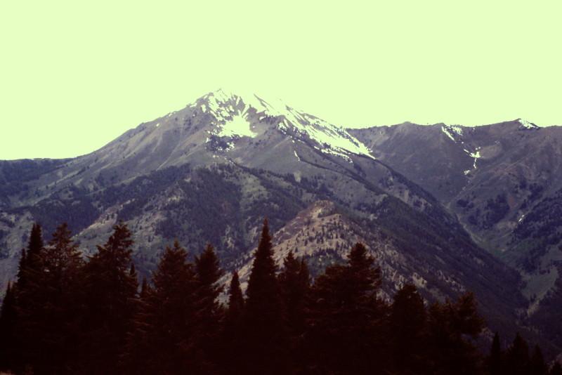 Grays Peak from Swede Peak.