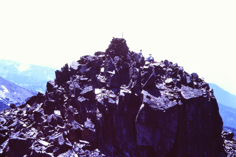 The summit of He Devil.