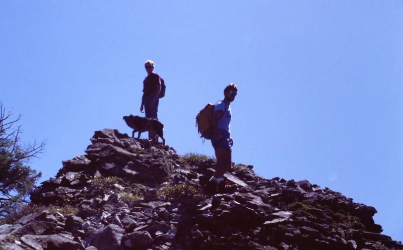 Grays Peak, a bit higher up the ridge.