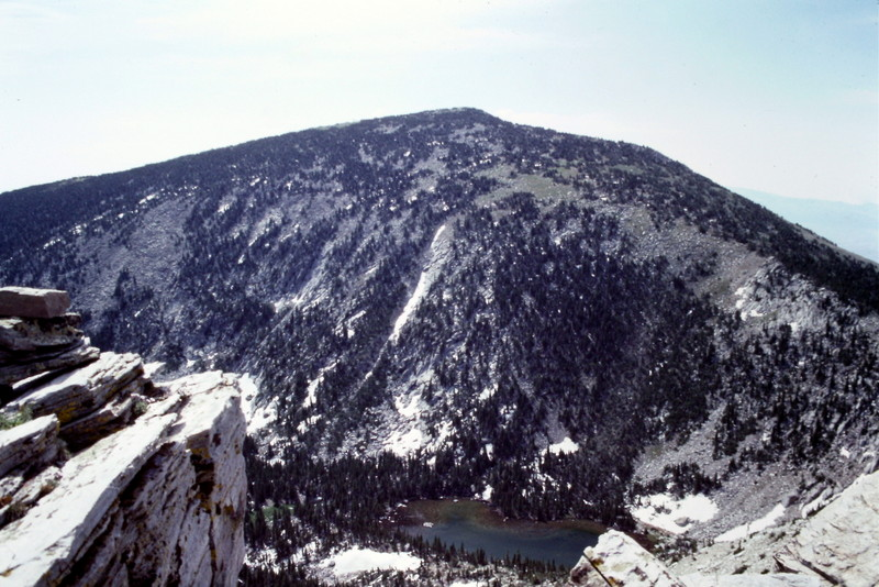 Cache Peak from Mount Independence.