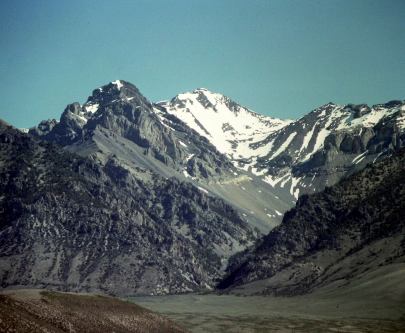 Mount Breitenbach from the west.