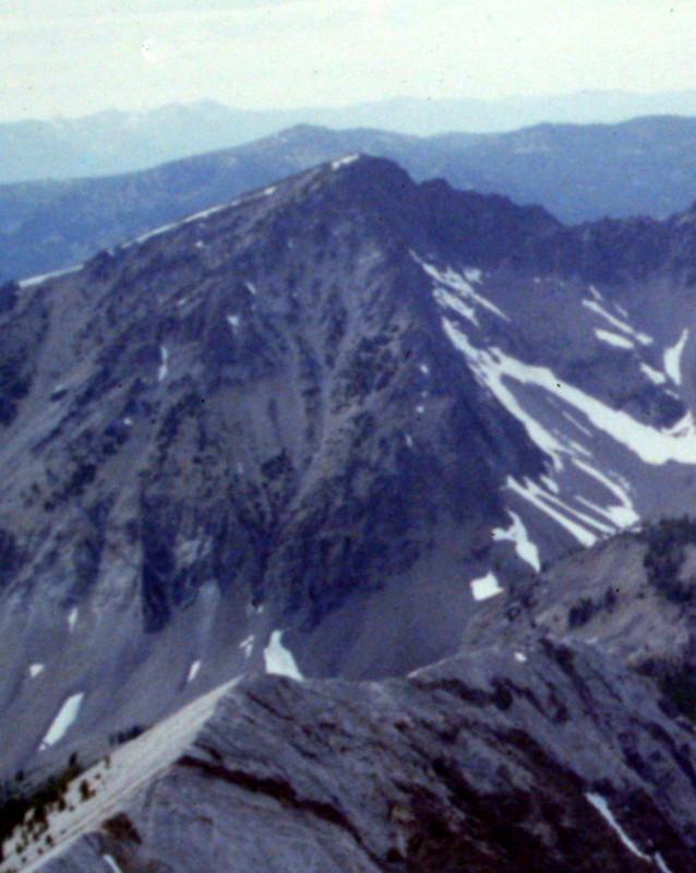 Watson Peak from WCP-5.