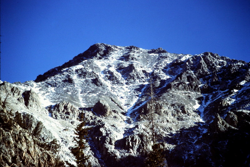 The west face of Mount Idaho.