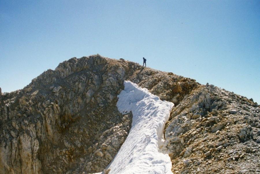 Summit White Cap Peak.