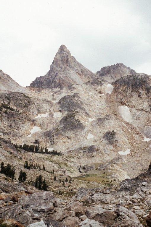 Thompson from the lower slopes of Merritt Peak.