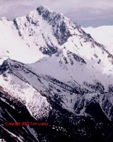 Borah's Southwest / Chicken Out Ridge route.