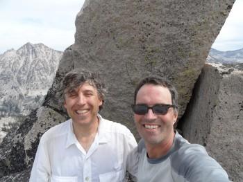 With John Platt on the summit of JT Peak.