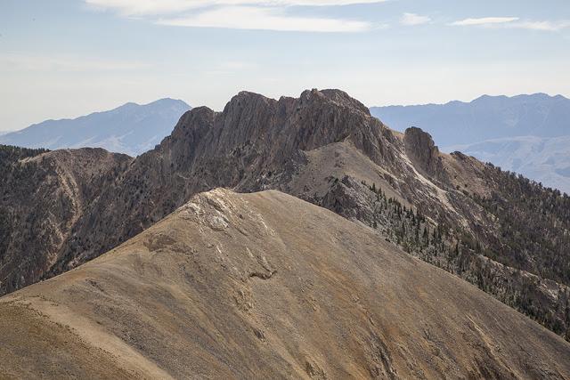 Sunny Bar Peak. Larry Prescott Photo