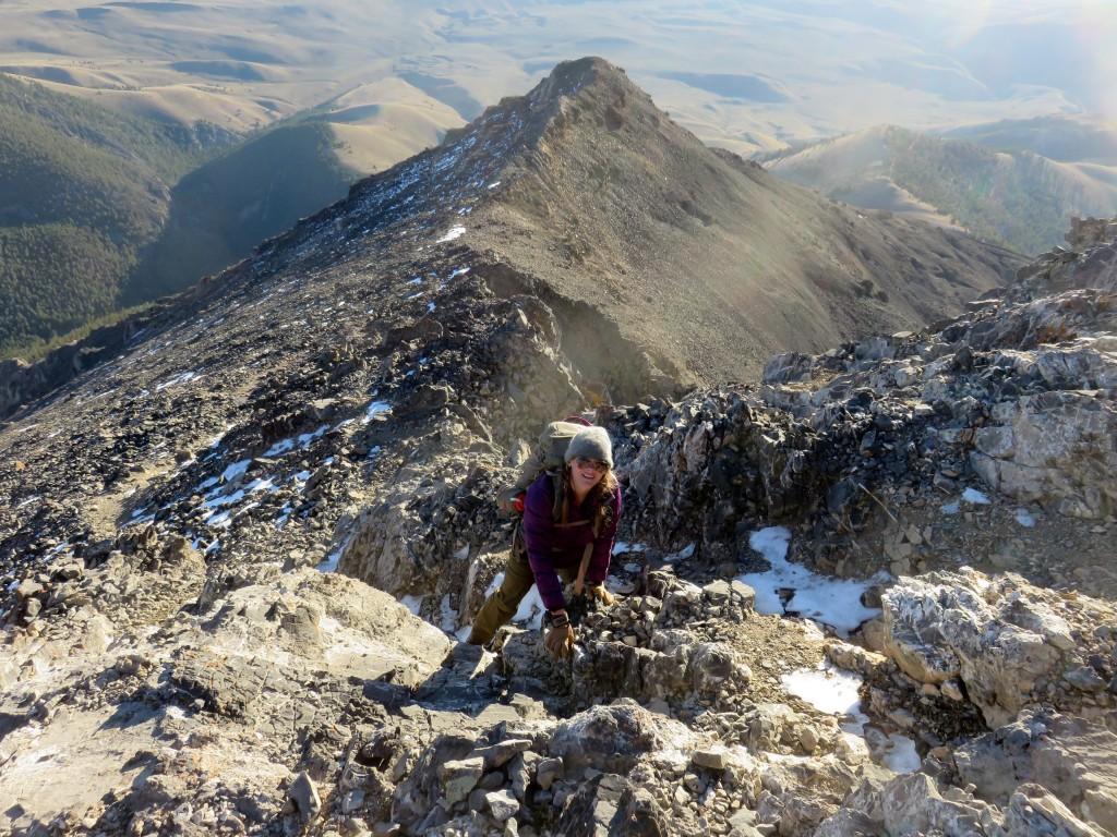 Classic ridge climbing at its best. Photo - Dan Paulson