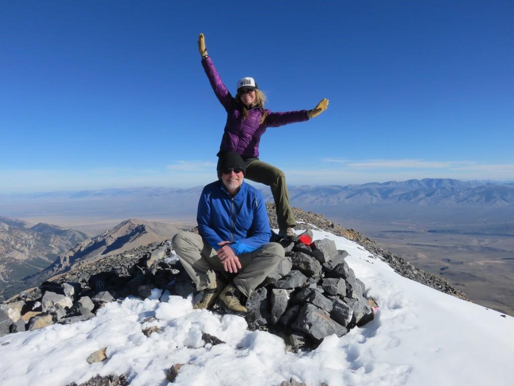 The summit. Photo - Dan Paulson