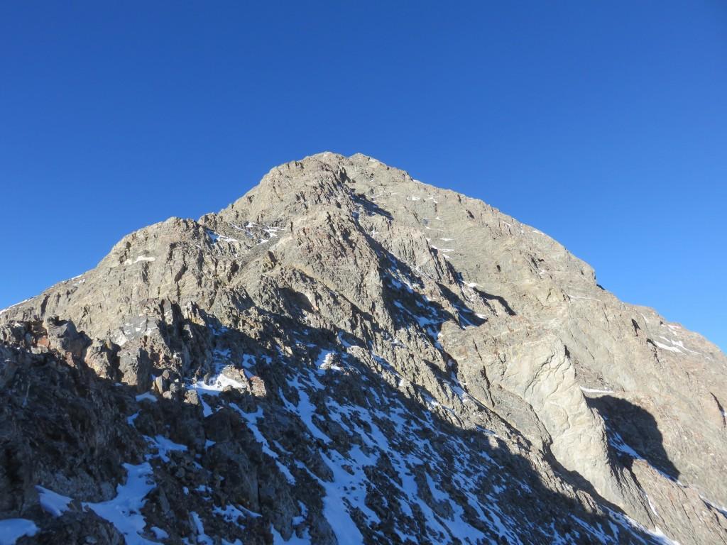 The upper ridge. Photo - Dan Paulson