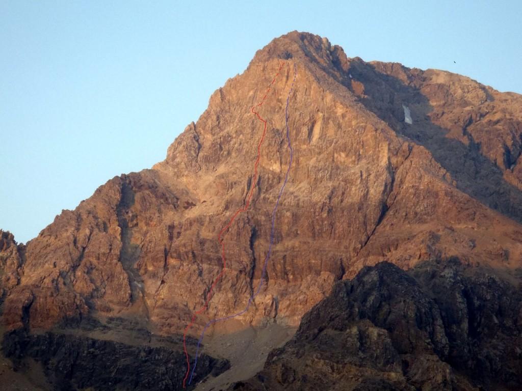 East Face of Idaho. Kevin Hansen Photo