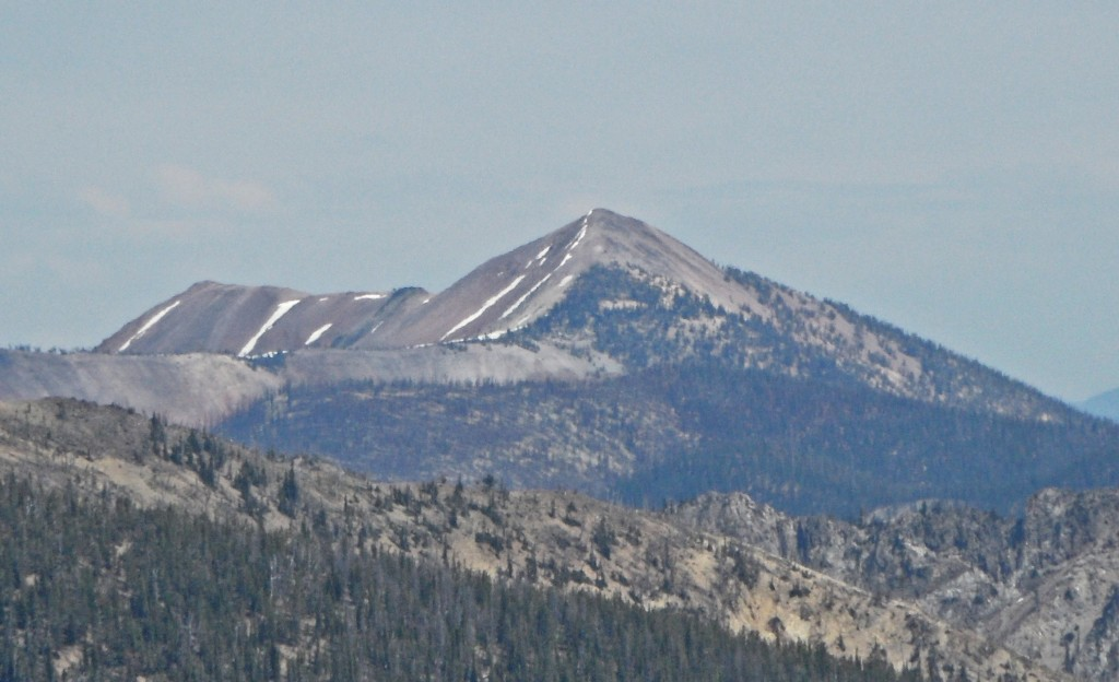 Big Baldy Peak viewed from the west. John Platt Photo
