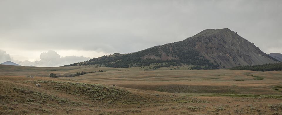 Roundup Peak viewed from the southwest. Larry Prescott Photo
