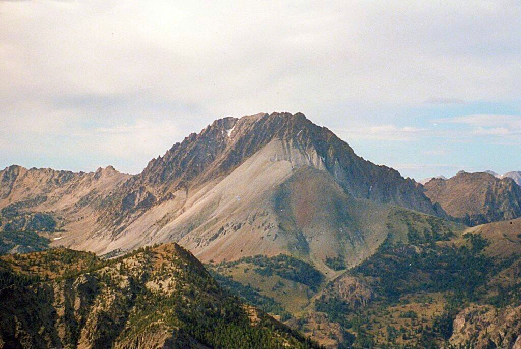 Castle Peak from Peak 10405.