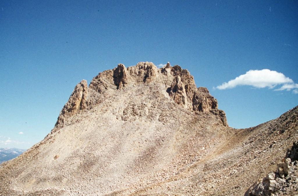 Southwest face of Thompson Peak.