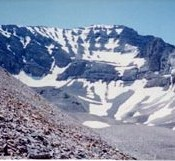 The North Face of USGS Peak.