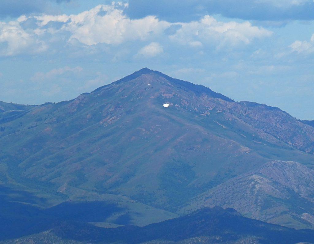 Old Tom viewed from Elkhorn Peak.