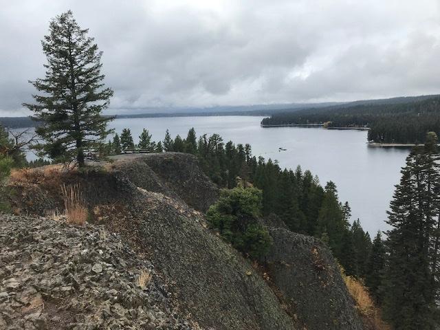 The view south from the summit. John Platt Photo
