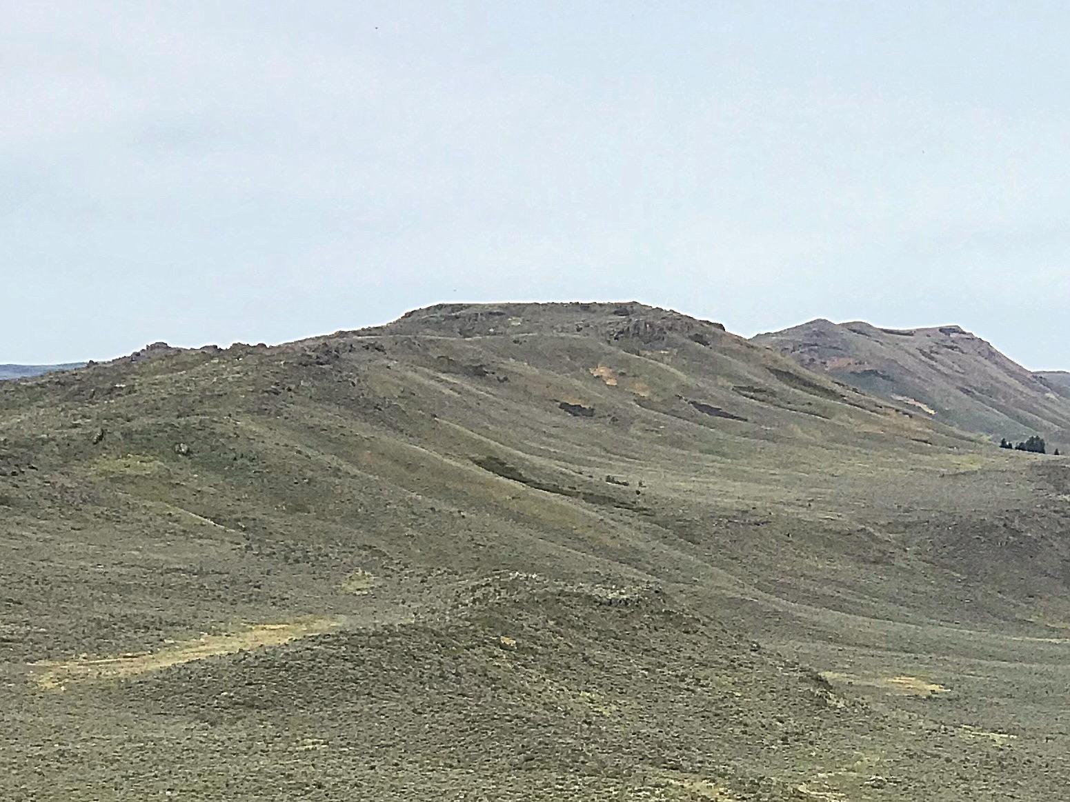 Fir Grove Mountain viewed from Peak 5875.