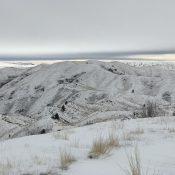 Flat Benchmark viewed from Bender Peak.