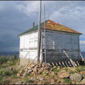 The Meadow Creek Lookout in 2012. National Historic Lookout Registry Photo