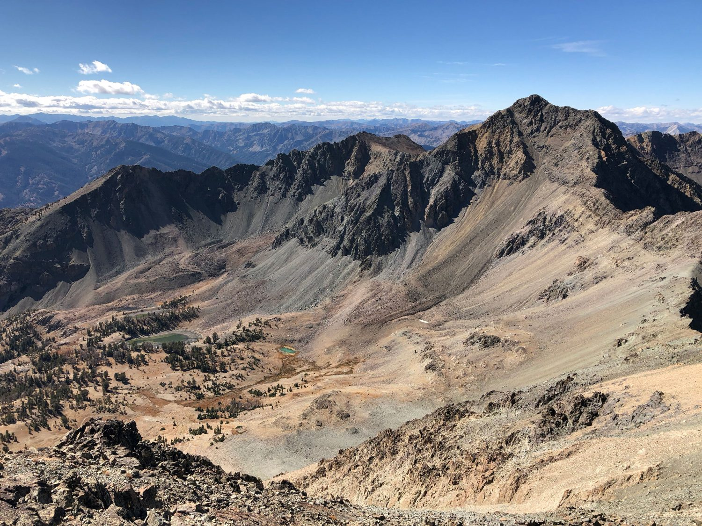 Lorenzo Peak from Silver Peak. Derek Percoski Photo