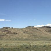 Sheep Mountain viewed from the southwest.