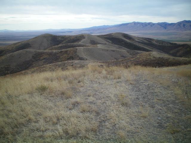 The summit of Peak 6471, looking west. Livingston Douglas Photo