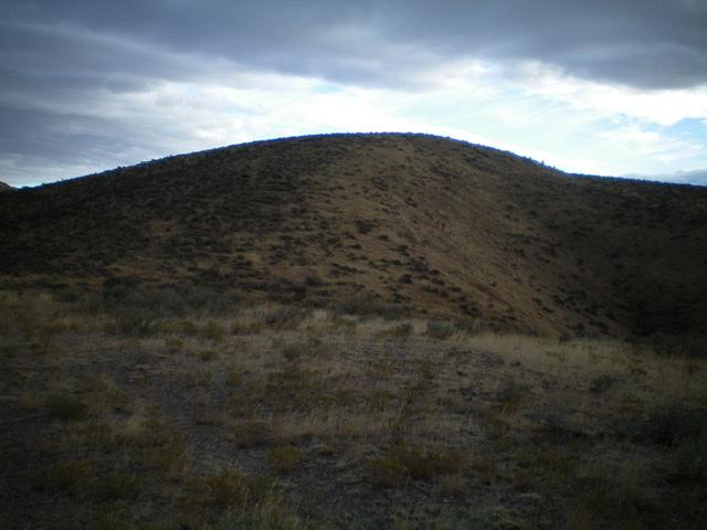 Peak 5964 as viewed from high on the southwest ridge. Livingston Douglas Photo