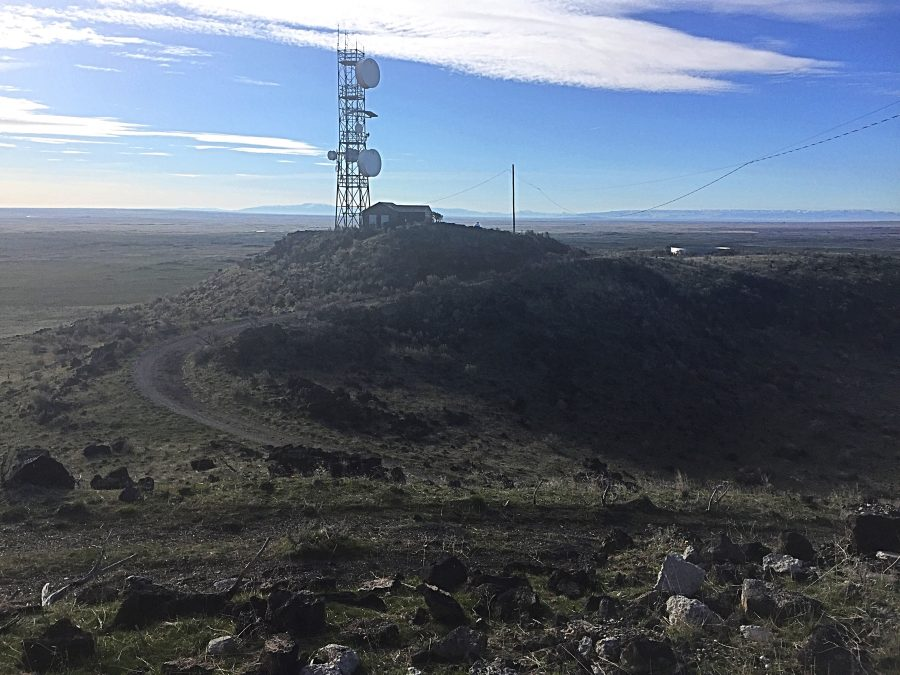The summit of Notch Butte.