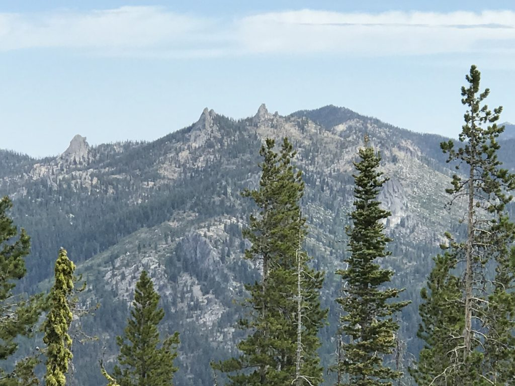 Looking north to Needles Peak.