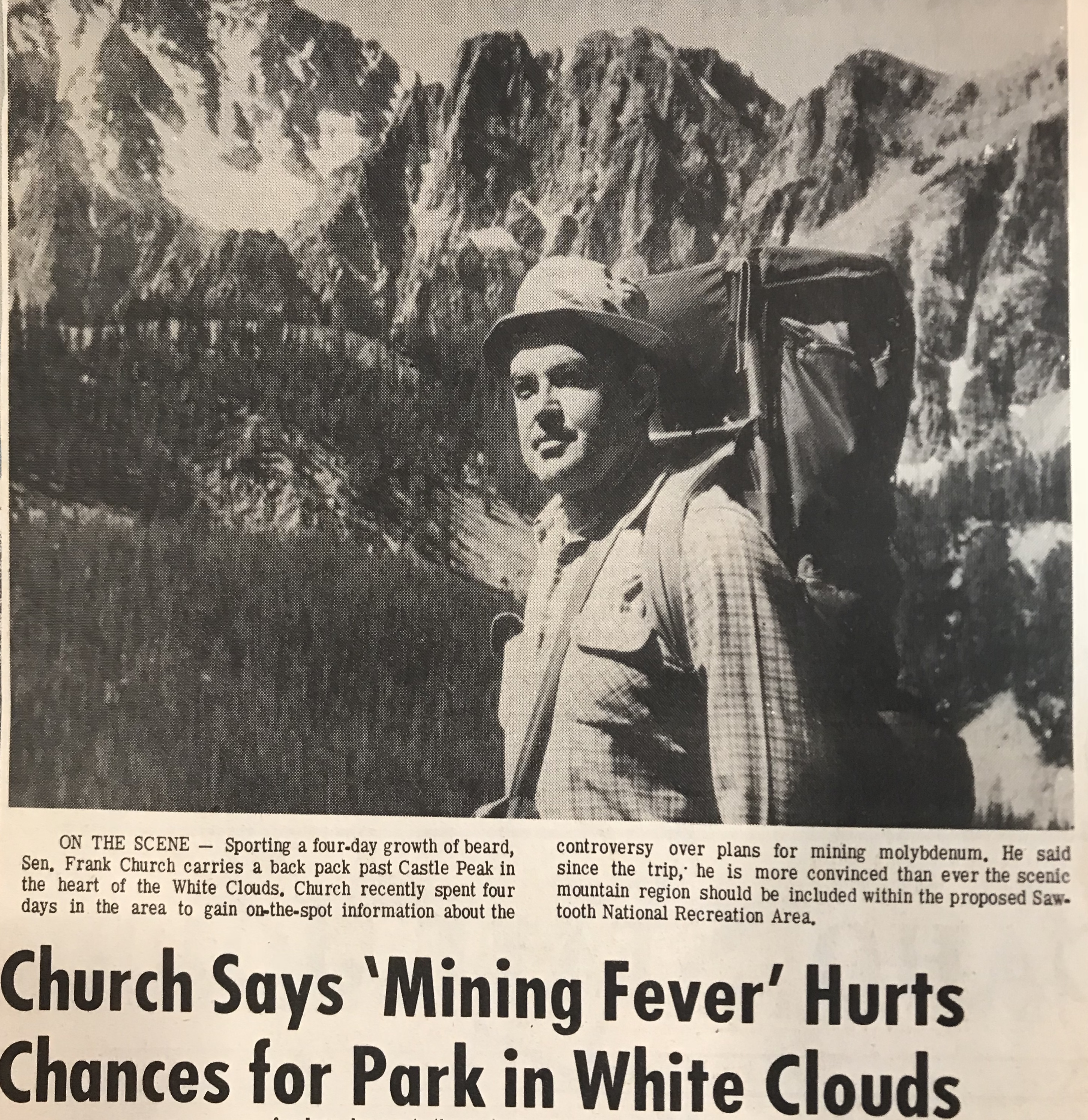 This photo was part of an Idaho State Journal article published on July 7, 1969.