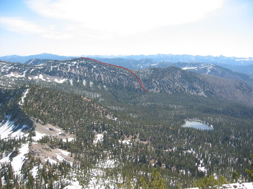 Langer Peak. John Platt Photo