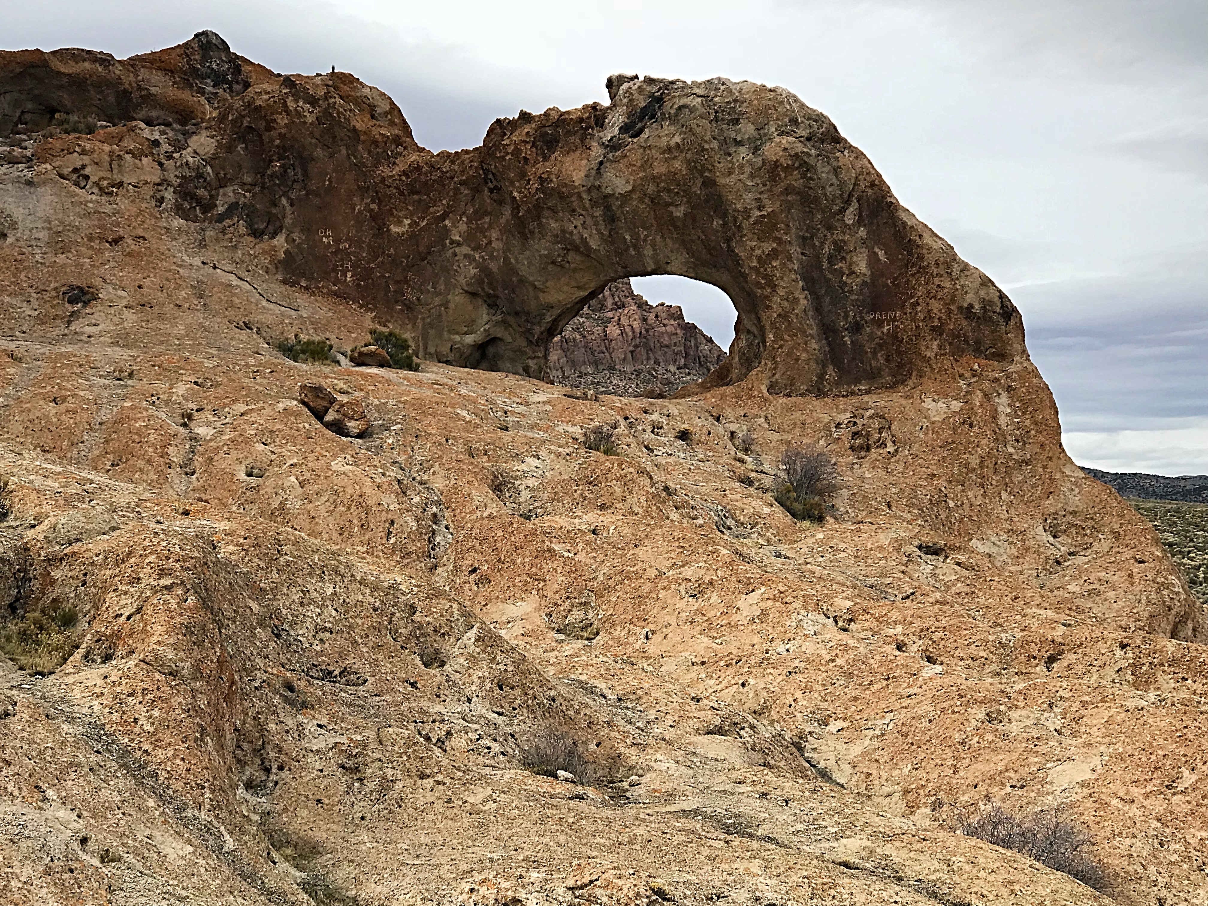 An arch in the middle of nowhere.