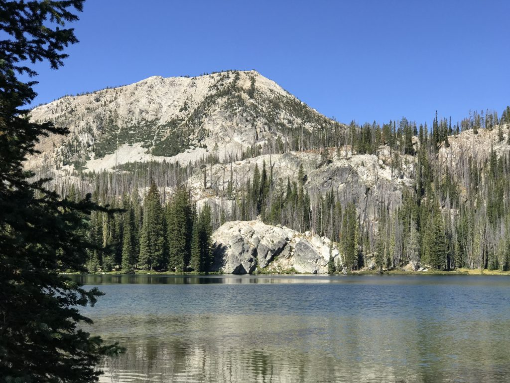 Ruffneck Peak from Langer Lake.