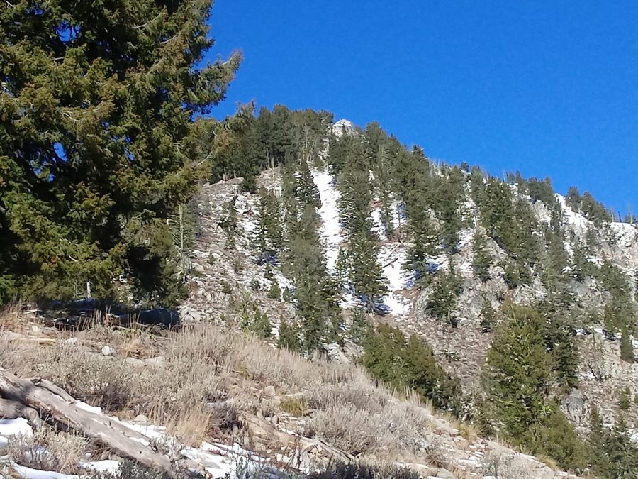Canyon Creek Peak. Brett Sergenian Photo
