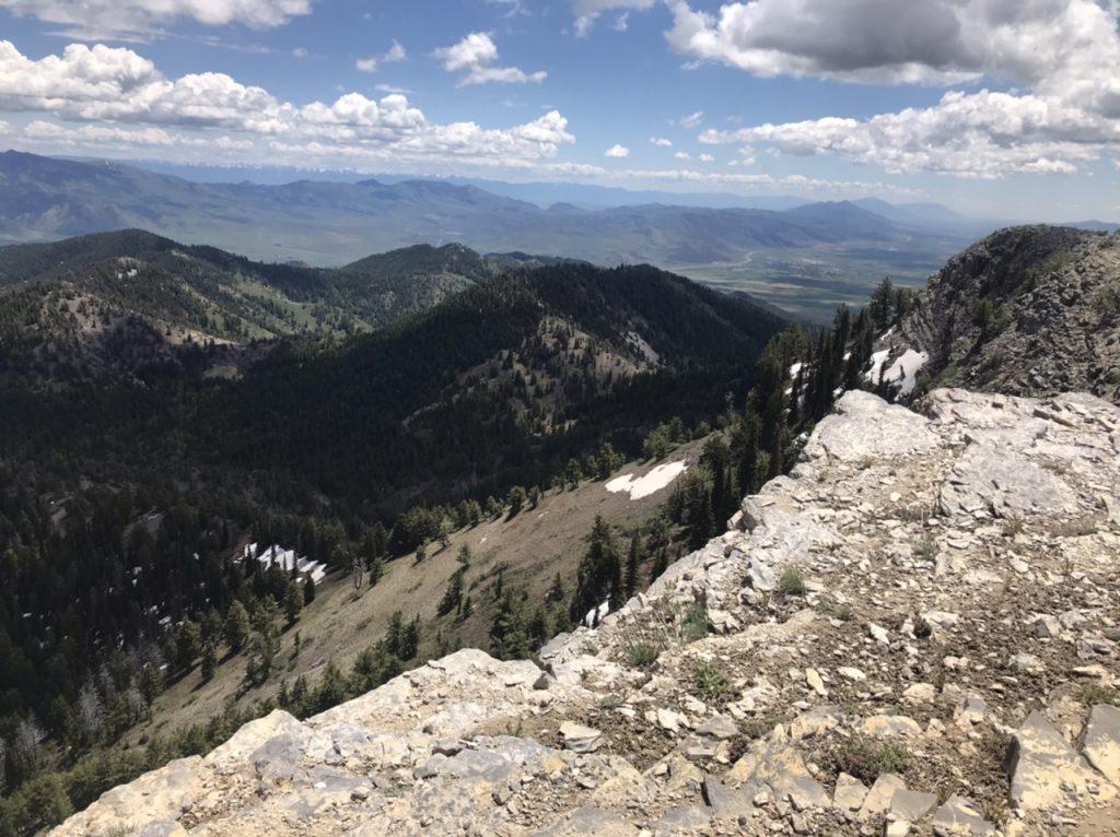 North Kents Peak viewed from,tue summit of Elkhorn Mountain.