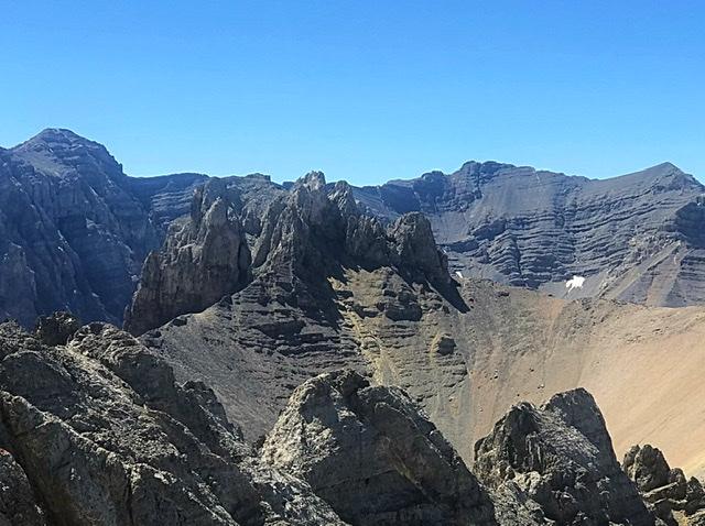Triple Peak viewed from True Grit.