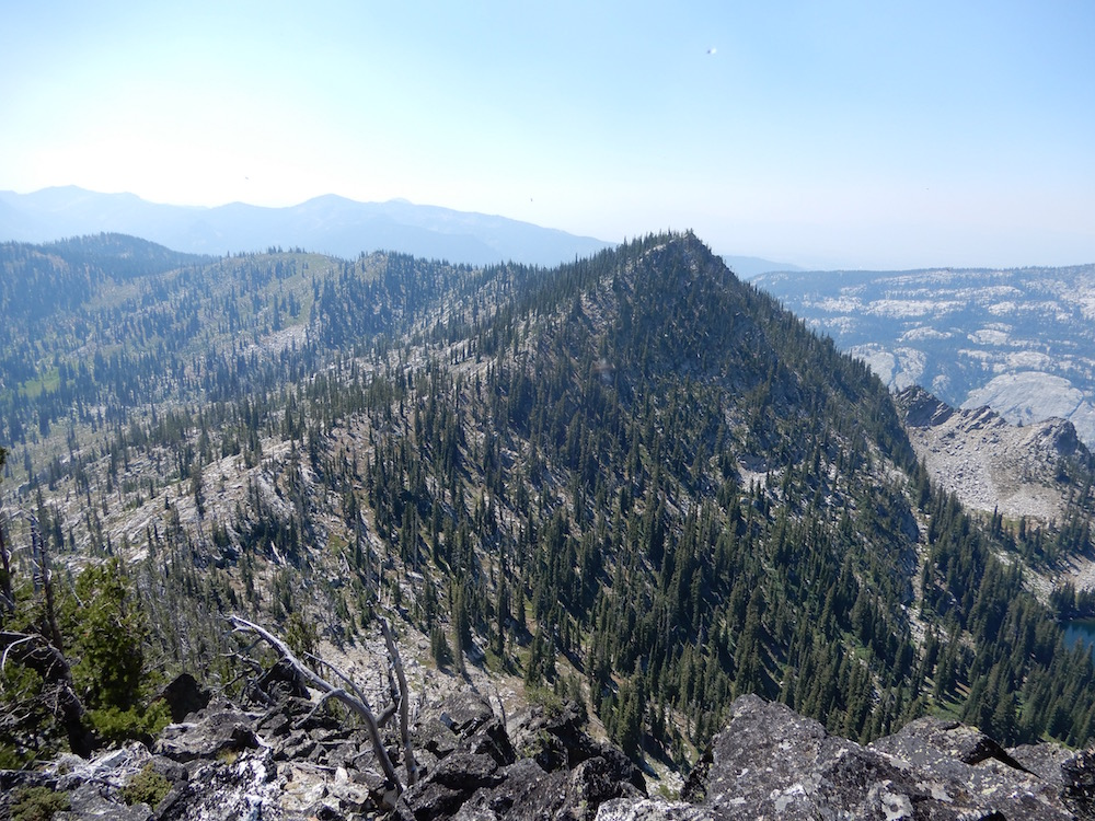 Golden Lake Peak viewed from the north. John Platt Photo