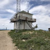 The Thorn Creek Butte lookout has seen better days but the view is still spectacular.