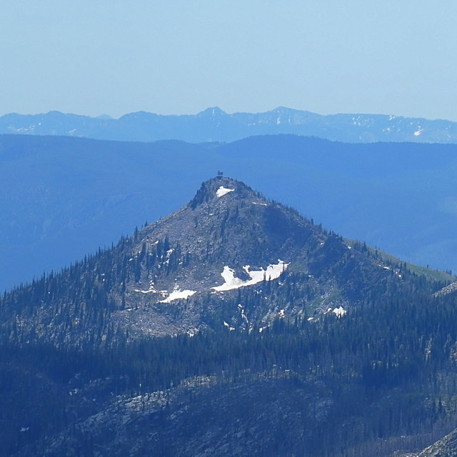 Oregon Butte viewed from Buffalo Hump.